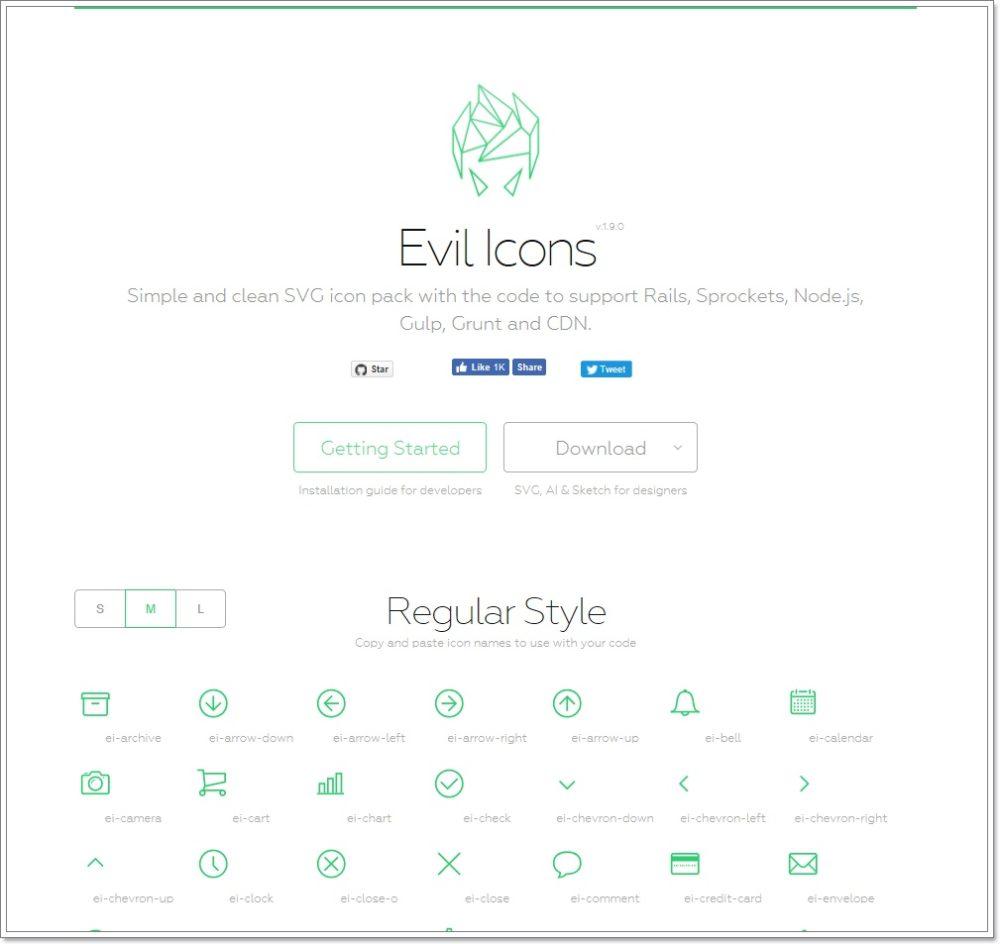 Evil Iconsの公式サイト
