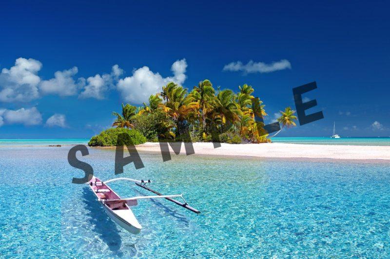 SAMPLEの文字を挿入した画像