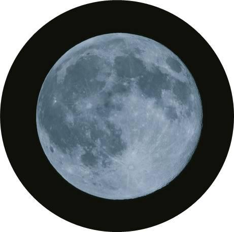 満月を円形にトリミング