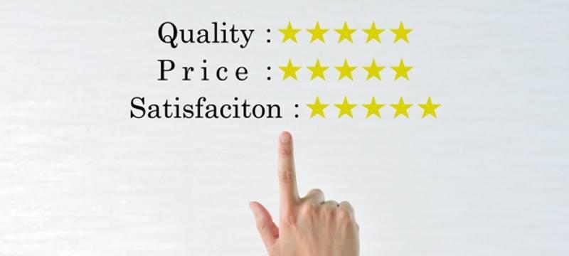 単価と質の相関図