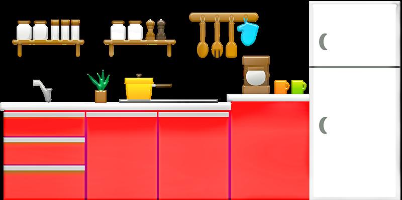 冷蔵庫の決まった場所に、特売日用商品を入れる