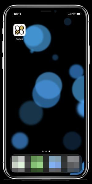 アプリのダウンロード後画面