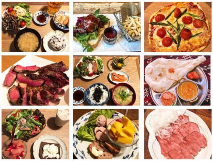 「Plez」の食事例
