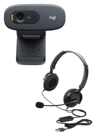 Webカメラ・ヘッドセット