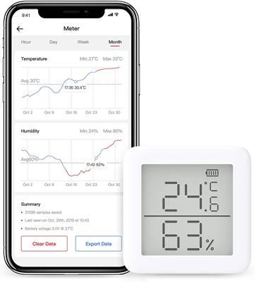温湿度計(スマート家電)