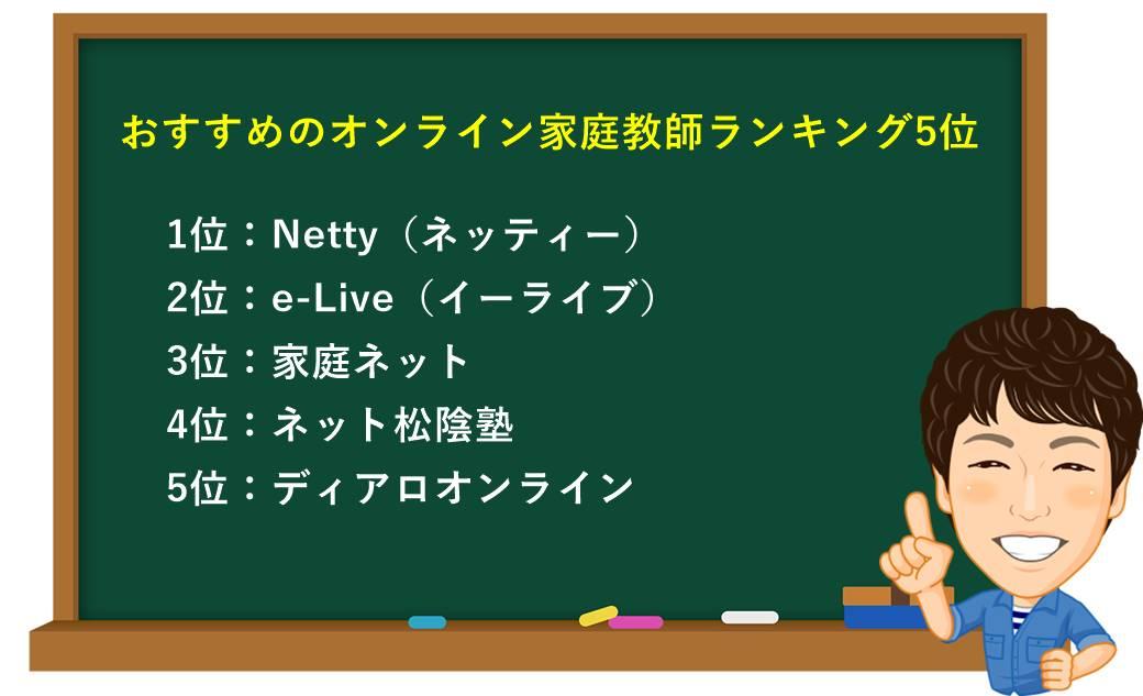 おすすめのオンライン家庭教師ランキング5位