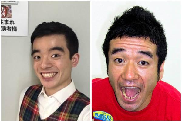 笑顔の似ている画像